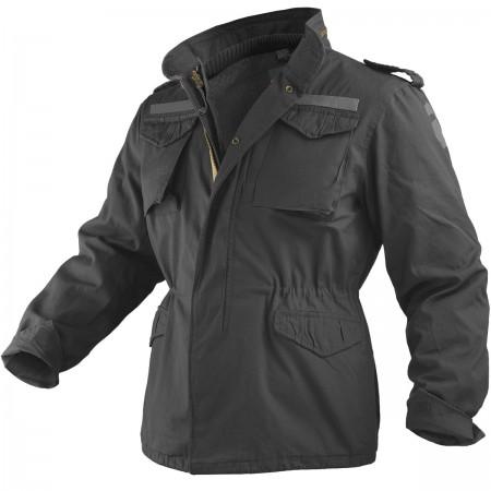 Surplus jakna M65 REGIMENT Black Washed