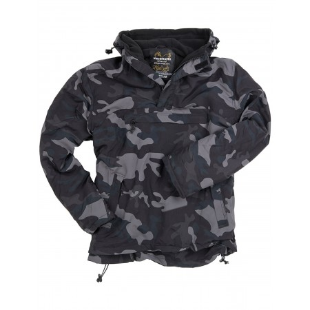 Jakna Surplus WINDBREAKER Black Camo